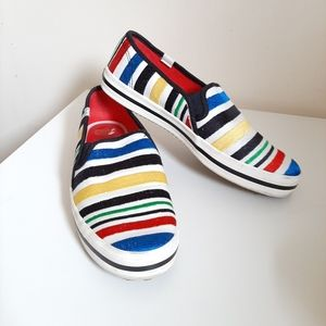 Keds X Kate Spade Double Deckers Colorful Sneakers